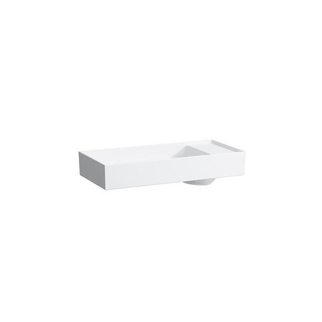 Laufen Kartell by Laufen Schalenwaschtisch B:75xT:35cm 1 Hahnloch mittig ohne Überlauf weiß H8123320001111
