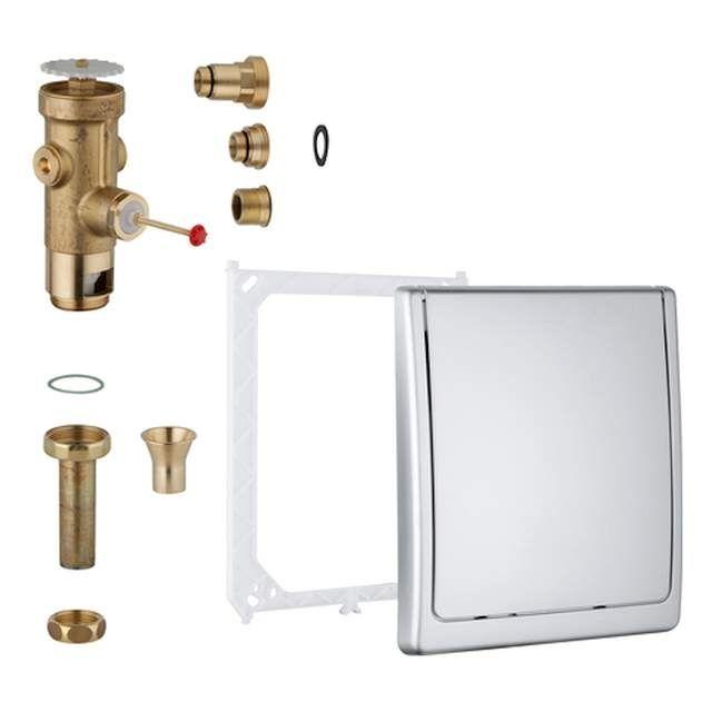 Grohe WC-Druckspüler Wandeinbau DN20 Austauscharmatur 42901000