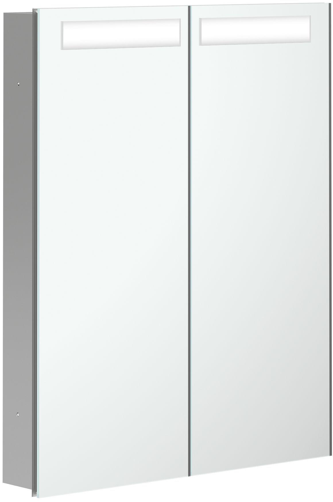 Villeroy & Boch My View In Spiegelschrank mit LED Beleuchtung B:60,1xH:74,7xT:10,7cm A4356000