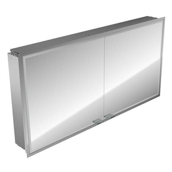Emco asis prestige Lichtspiegelschrank ohne Radio 989706019, Unterputz, Breite 1315 mm