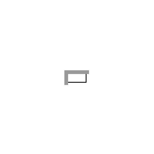 Duravit DuraStyle Wannenverkleidung 1590x690 Ecke links für Wanne #700292/293 weiß acryl DS878508282