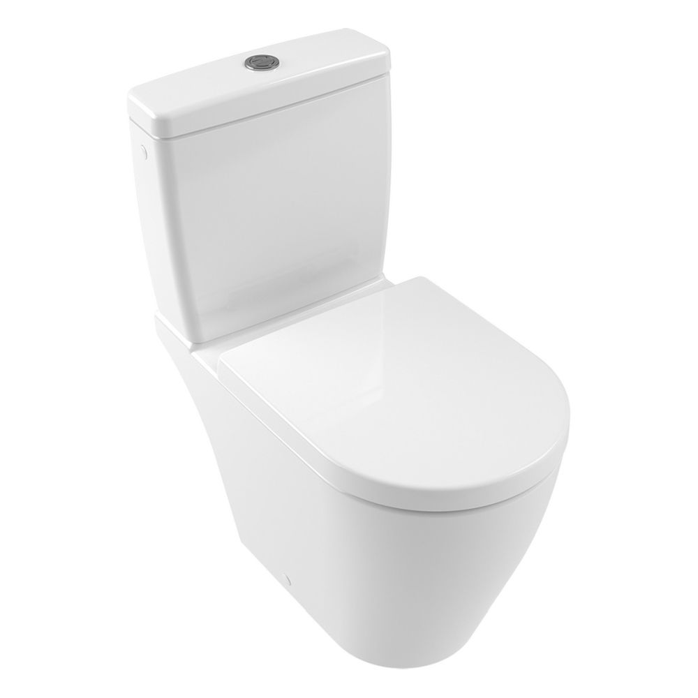 Villeroy & Boch Avento WC-Sitz QuickRelease SoftClose weiß 9M77C101