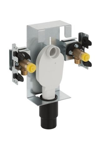 Geberit GIS Waschtisch-Element für Standarmatur mit Unterputz-Sifon 461435001