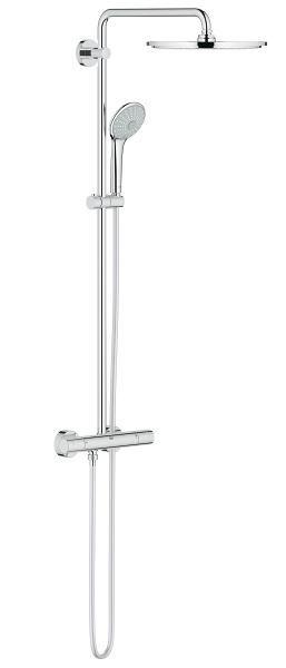 Euphoria XXL System 310 Duschsystem mit Thermostatbatterie für die Wandmontage chrom 26075000