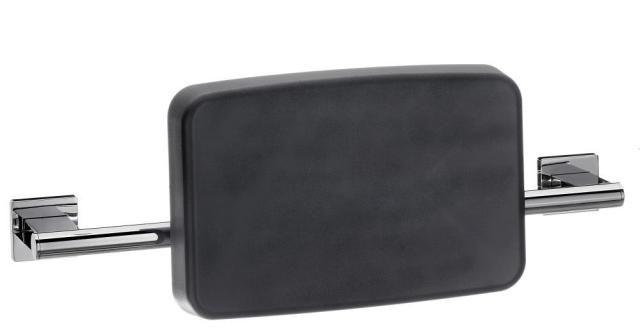 Emco System 2 Rückenstütze 356721200, chrom/schwarz