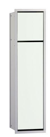 Emco asis 150 Sanitärmodul Unterputz H:70cm chrom schwarz 974027940