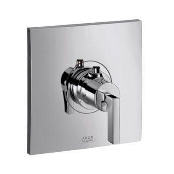 Hansgrohe Axor Citterio 39711000 Thermostat Unterputz Hight Flow Fertigset mit Hebelgriff chrom