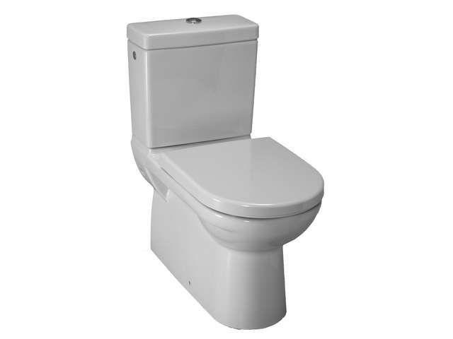 Laufen Pro Tiefspül-Stand-WC für Kombination L:70xB:36cm weiß mit CleanCoat LCC H8249584000001