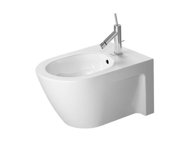 Duravit Starck 2 Wand-Bidet L:54cm mit 1 Hahnloch mit Überlauf weiß 2271150000