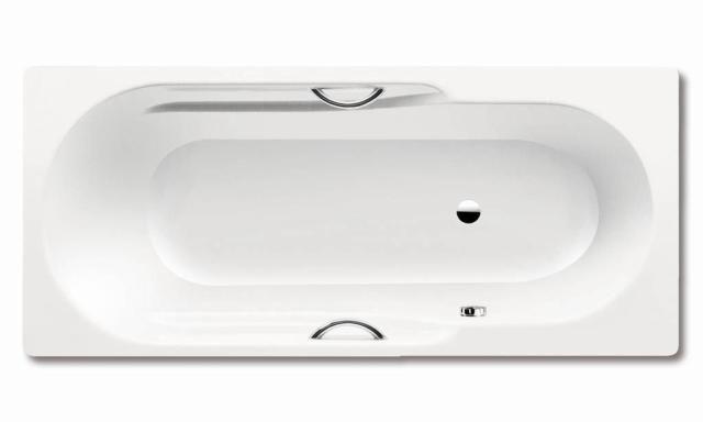 Kaldewei Ambiente RONDO STAR 701 Badewanne Rechteck 170x75x44cm alpinweiß Perl-Effekt Vollantislip 221634013001