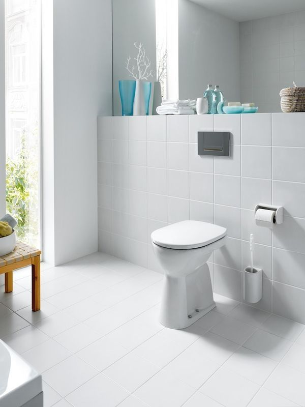 Laufen Pro Tiefspül-Stand-WC L:47xB:36cm weiß mit CleanCoat LCC H8219564000001