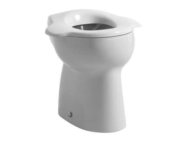 Laufen Florakids Flachspül-Stand-WC für Kinder L:38,5xB:29,5cm weiß H8220370000271