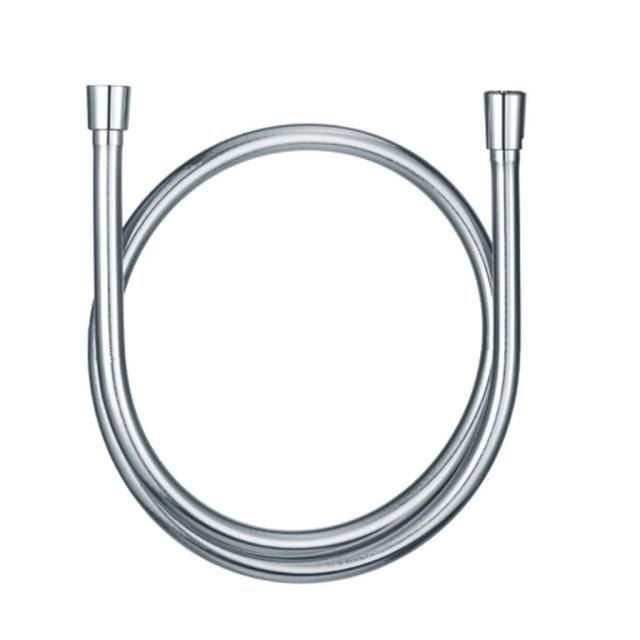 KLUDI SUPARAFLEX SILBER Brauseschlauch Metalleffekt konischen Muttern chrom 6107105-00