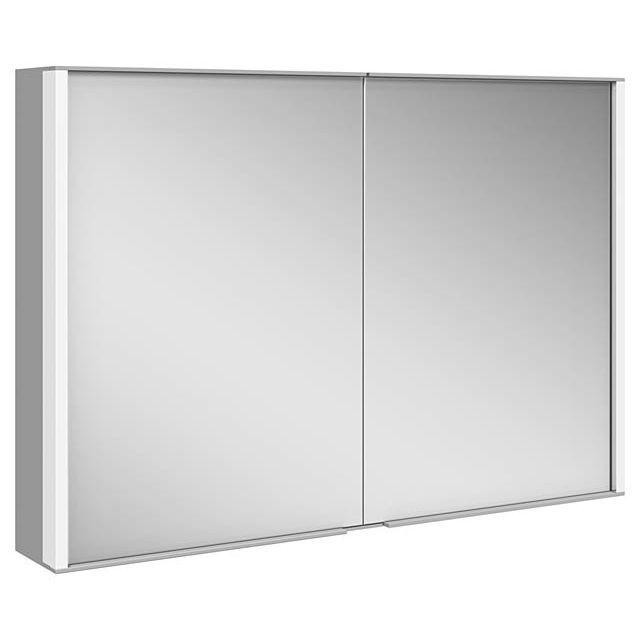 Keuco ROYAL MATCH Spiegelschrank mit LED-Beleuchtung B:1000xH:700xT:160 mm 12803171301