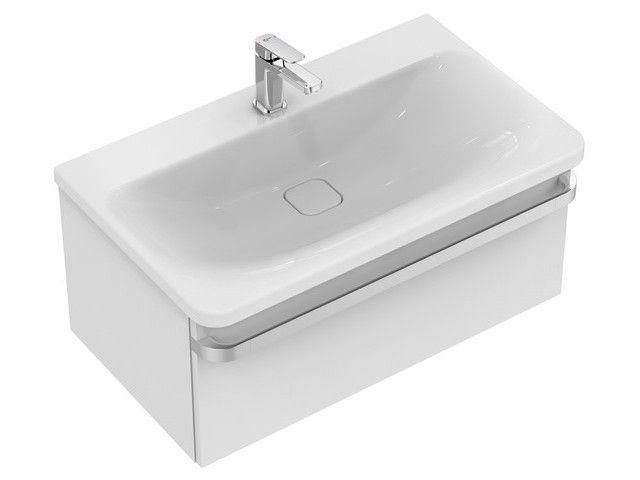 Ideal Standard TONIC II Waschtisch-Unterschrank 1 Auszug 800x440x350mm weiß hochglanz R4303WG