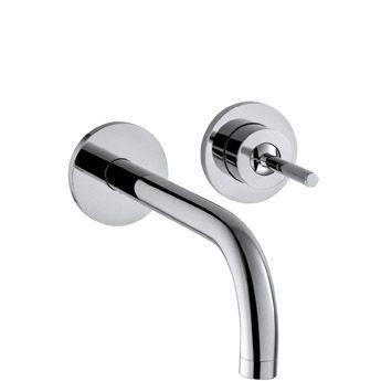 Hansgrohe Axor Uno² 38113000 Waschtischmischer Unterputz mit Auslauf 160 mm chrom