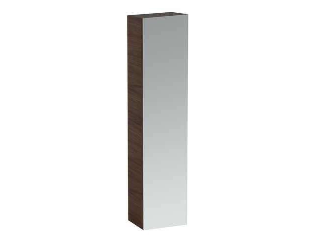 Laufen Alessi one Hochschrank B:40cm T:30cm H:170cm 1 Spiegeltür 2 Ablagen 2 Schubladen Türanschlag links weiß lackiert H4580120976311