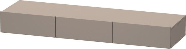 Duravit DuraStyle Schubkastenablage 440x1500x150 3 Schubkästen basalt matt/ basalt matt DS827204343