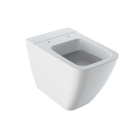 Geberit Keramag iCon Square Tiefspül-Stand-WC spülrandlos weiß mit KeraTect 211910600