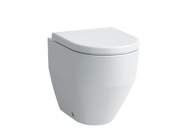 Laufen Stand-Tiefspül-WC Laufen Pro 530x360x430 spülrandlos Abgang waagrecht /senkrecht LCC weiss H8229564000001