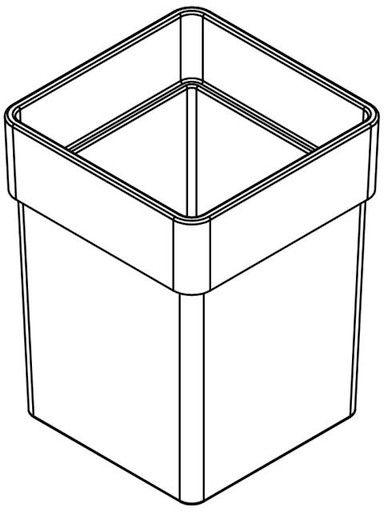 Giese Gifix Tono Ersatz-WC-Bürstenglas 81287