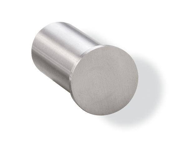 HEWI Einzelhaken System 162 Edelstahl matt geschliffen T 35 mm 162.90.010XA