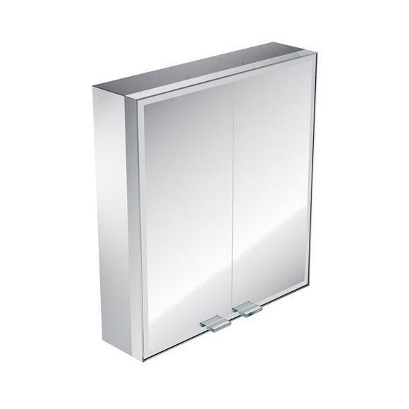 emco asis prestige Lichtspiegelschrank ohne Radio 989706011, Aufputz, Breite 587 mm