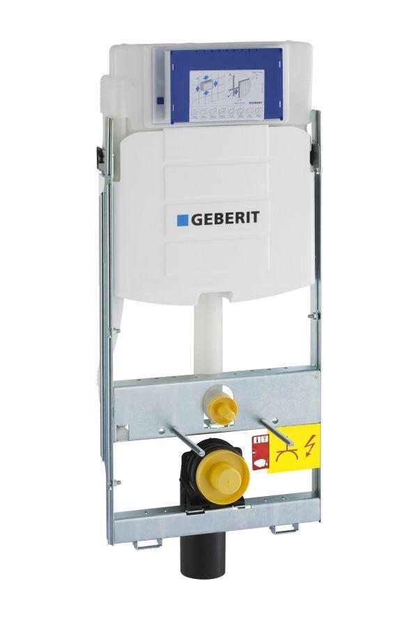 Geberit GIS Element für Wand-WC 114 cm mit Sigma Unterputz-Spülkasten 12 cm 461311005
