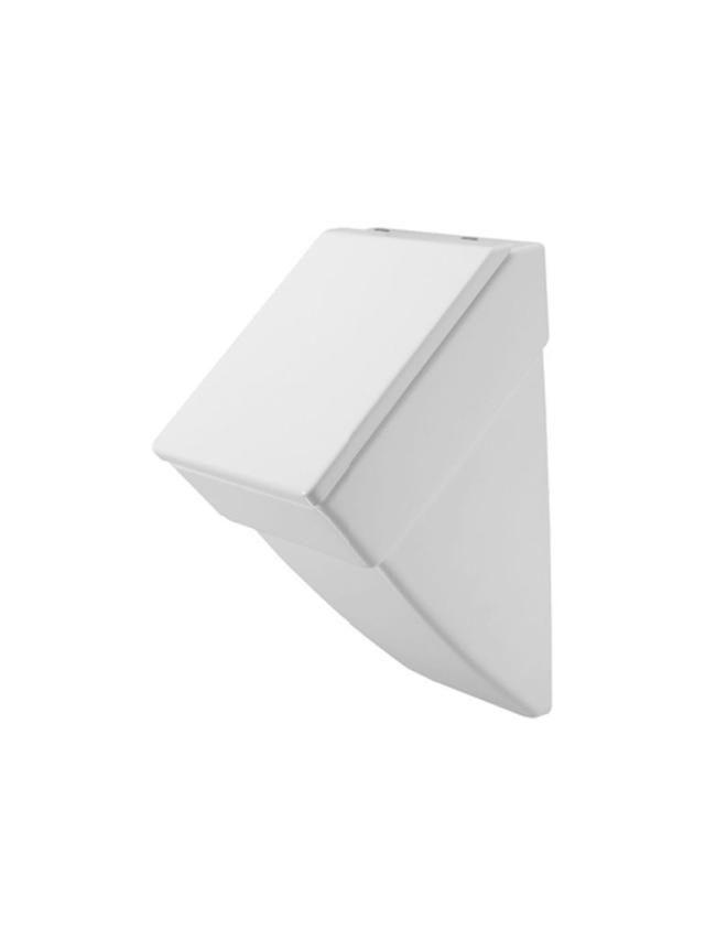 Duravit Vero Urinal für Deckel Zulauf von hinten B:29,5xH:55,5xT:32cm weiß mit Wondergliss 28013200001