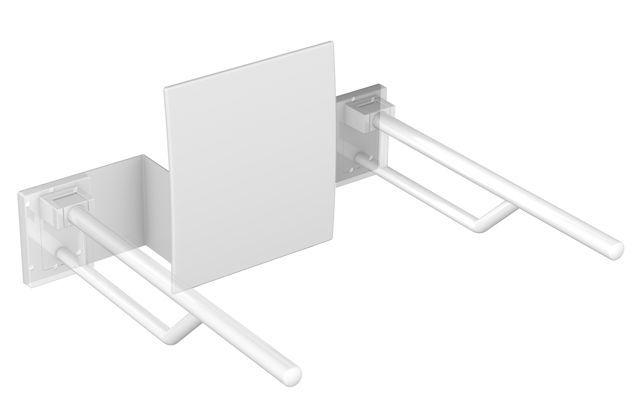 HEWI Rückenstütze für Wandstütz- und Stützklappgriffe 950.50.... Signalweiß 950.51.90090 98