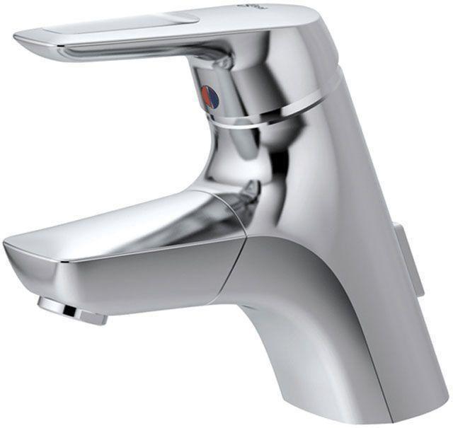 Ideal Standard Ceramix Einhebel-Waschtischarmatur mit Ablaufgarnitur chrom A5654AA
