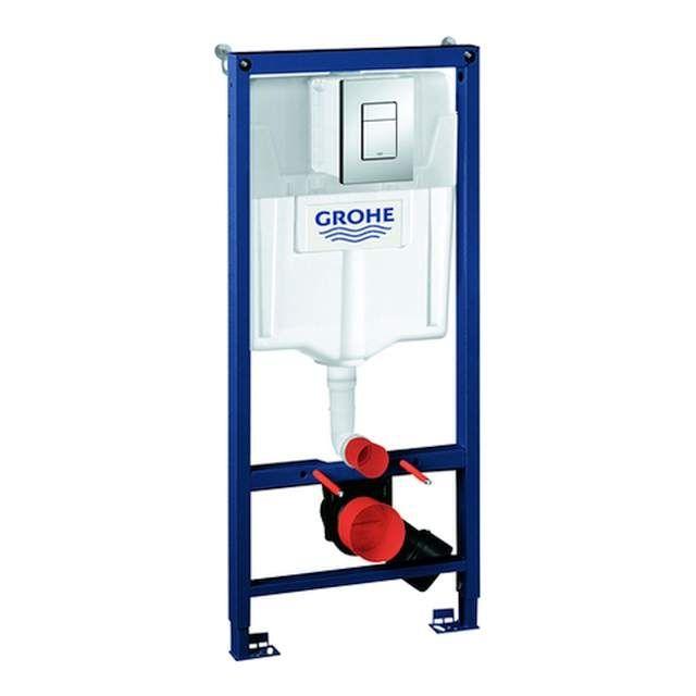 Grohe Rapid SL 3 in 1-Set Montageelement für WC Spülkasten GD 2 38772001 chrom 38772001