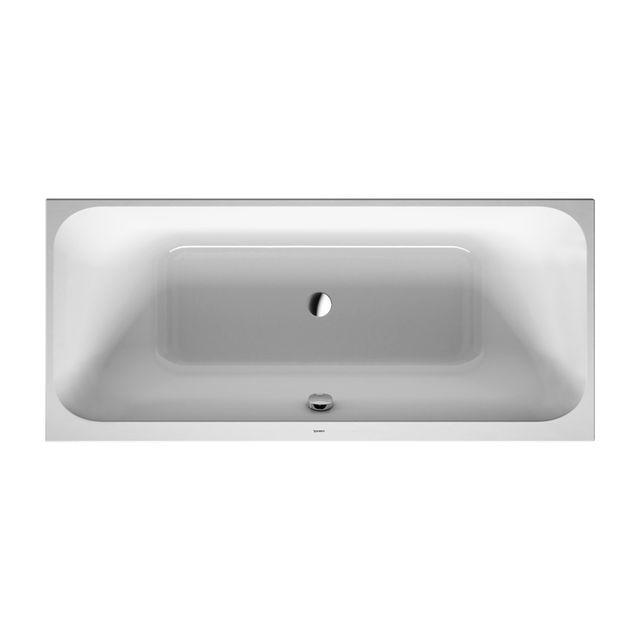 Duravit Happy D.2 Badewanne 1800x800 Einbauversion 2 Rückenschrägen weiß 700314000000000