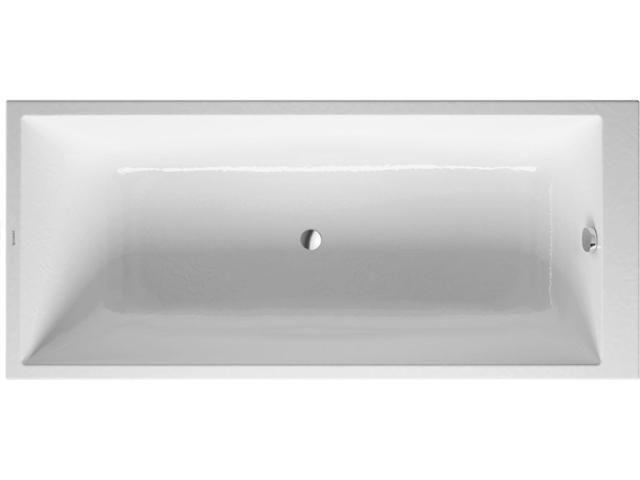 Duravit DuraStyle Rechteck-Badewanne B:75xL:170xT:34cm Einbauversion weiß 700231000000000