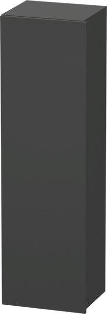 Duravit DuraStyle Hochschrank B:40xH:140xT:36 cm mit 1 Tür Türanschlag links graphit matt DS1219L4949