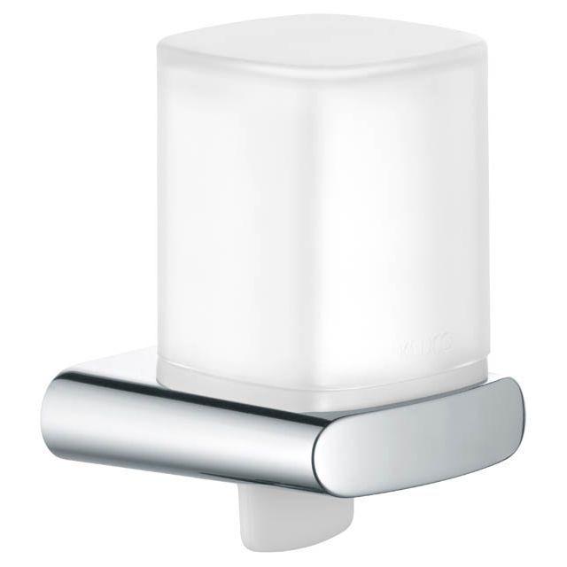 Keuco Elegance Lotionspender komplett (mit Halter und Pumpe) Kunststoff Halter/Pumpe verchromt 11652010100