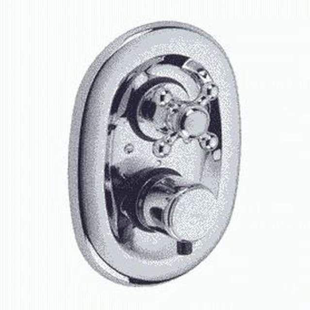 KLUDI ADLON Unterputz-Thermostatarmatur Feinbau-Set Absperrventil messing 517204520