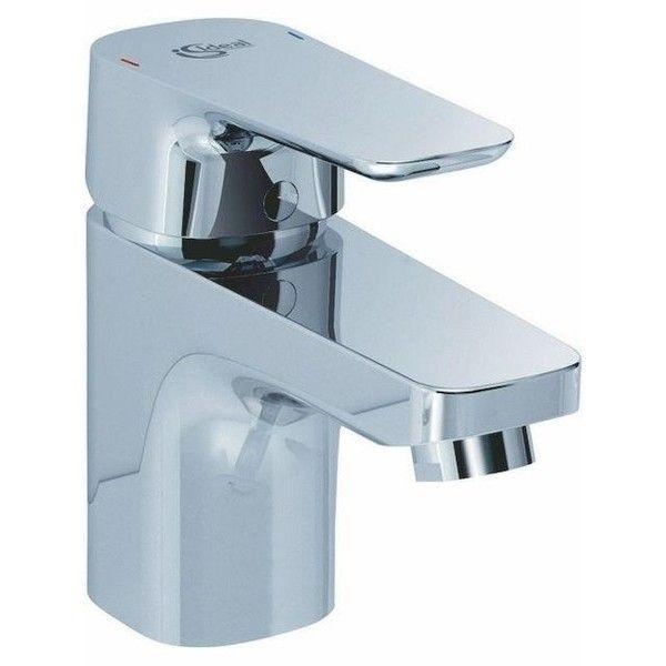 Ideal Standard CERAPLAN III Einhebel-Waschtischarmatur Niederdruck mit Ablaufgarnitur chrom B0748AA