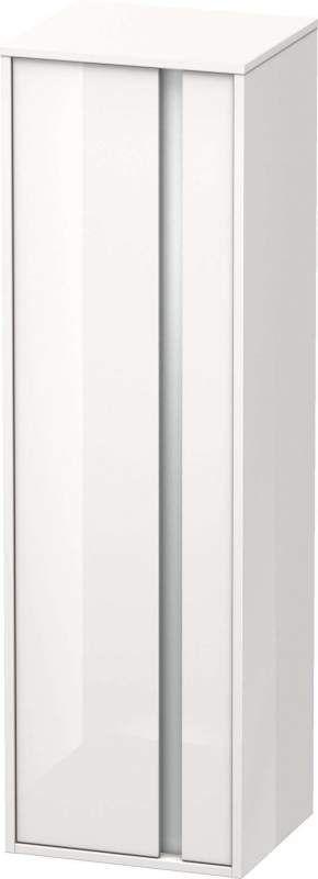 Duravit Ketho Hochschrank B:40xH:132xT:36cm 1 Tür Türanschlag links weiß hochglanz KT1257L2222