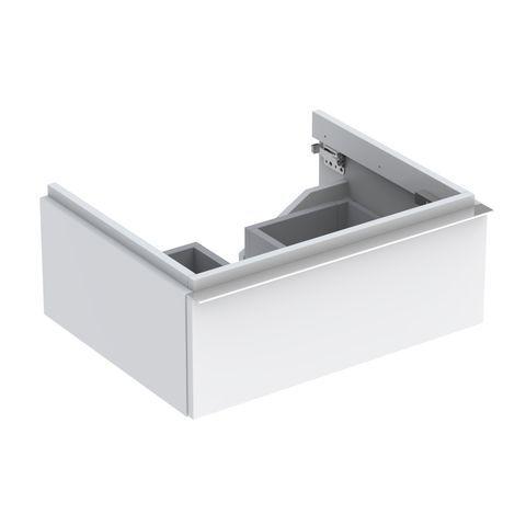 Geberit Keramag iCon Waschtischunterschrank mit 1 Schublade B:595xT:477xH:240mm alpin hochglanz 840260000