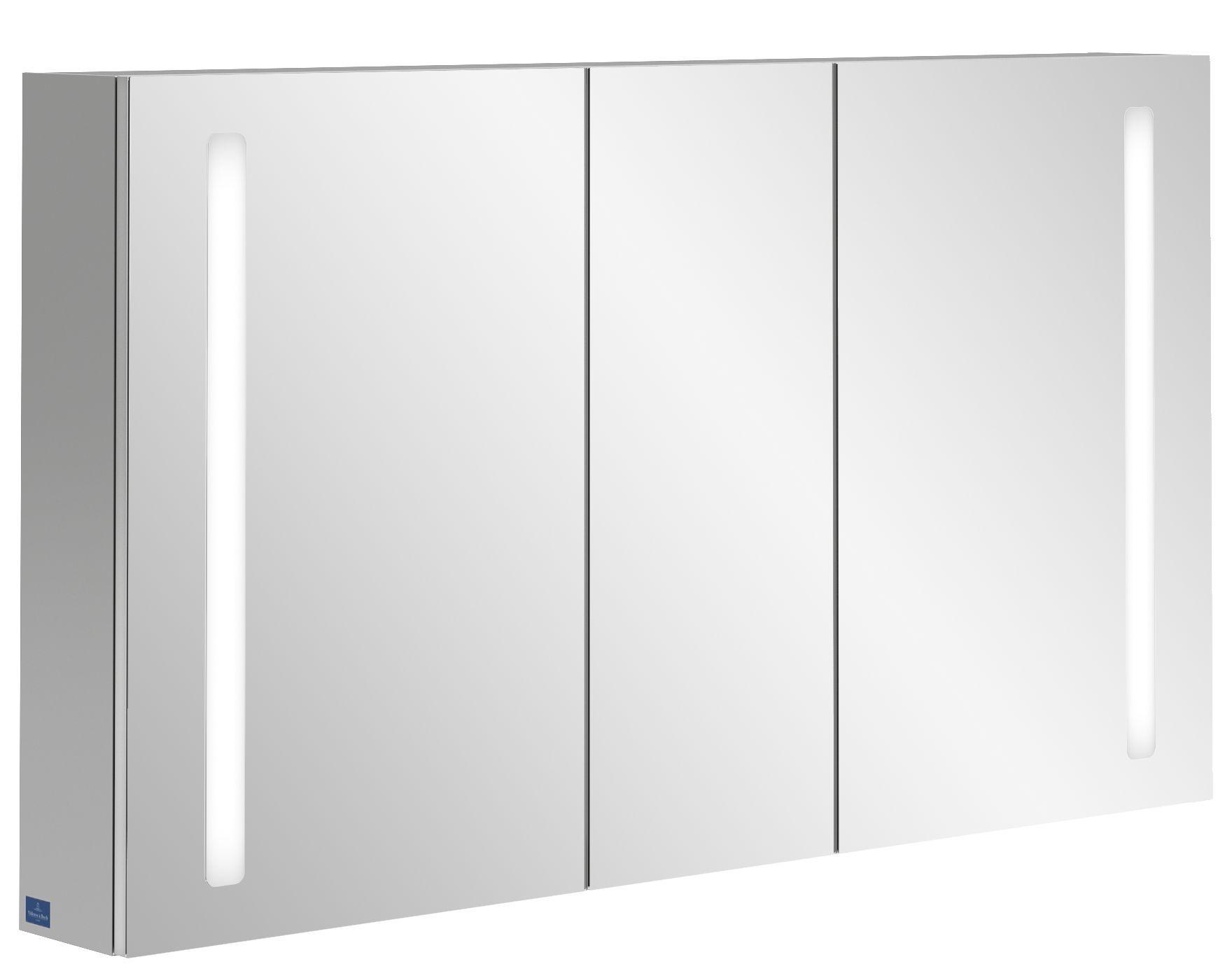 Villeroy & Boch My View 14+ Spiegelschrank mit integrierter LED Beleuchtung B:130xH:75xT:17,3cm A4331300
