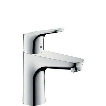 Hansgrohe Focus 31517000 Waschtischmischer 100 ohne Ablaufgarnitur chrom