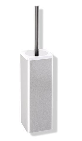 HEWI WC-Bürstengarnitur Serie 805 Edelstahl zur Wandmontage Reinweiß 805.20.200 99