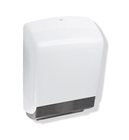 HEWI Papierhandtuchspender Serie 477 für ca. 450 St. Papier Lichtgrau 477.06.60005 97
