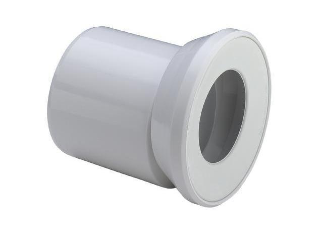 Viega WC Anschlussstutzen 3815.1, 614775 in 255mm Kunststoff, weiss