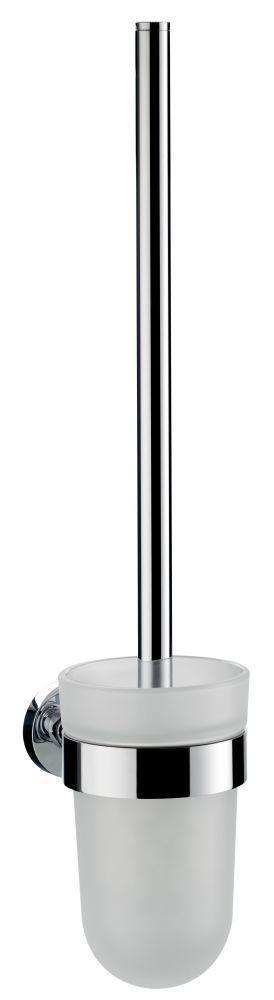 Emco Eposa Bürstengarnitur 081500101, chrom, chrom, ohne Deckel