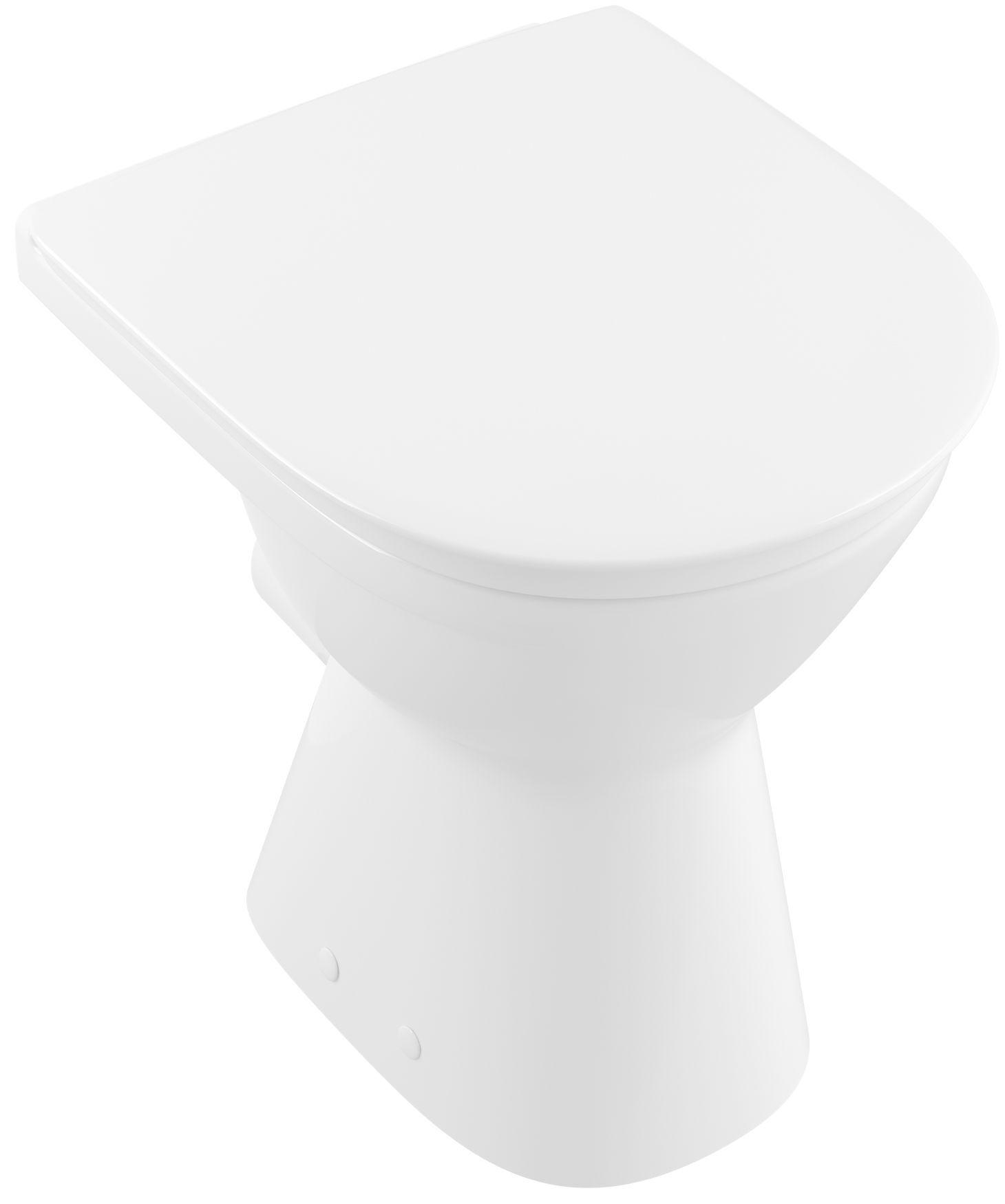 Villeroy & Boch O.novo L:48xB:36xH:46cm weiß mit CeramicPlus 468410R1