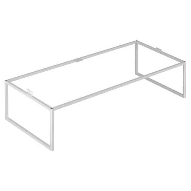 Keuco X-LINE Bodengestell B:100xH:25xT:47 cm inox seidenmatt 33198290004