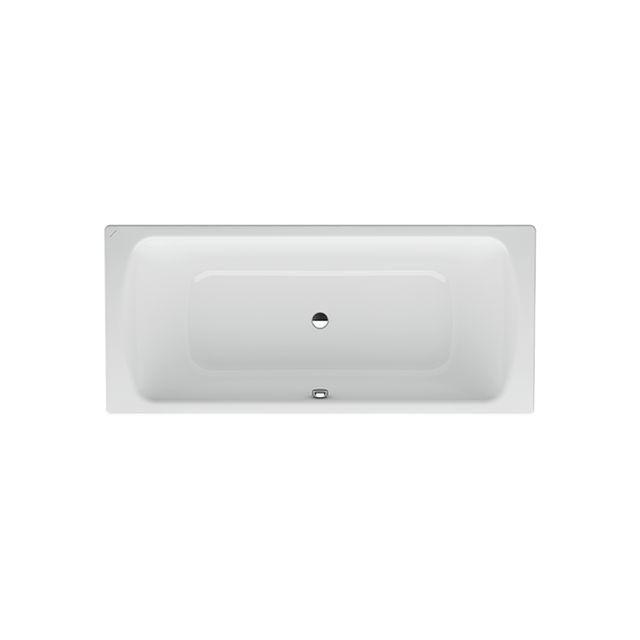 Laufen Pro Badewanne Auslauf mittig mit Schallschutz ohne Antislip L:170xB:75xH:45cm weiß H2269500000401