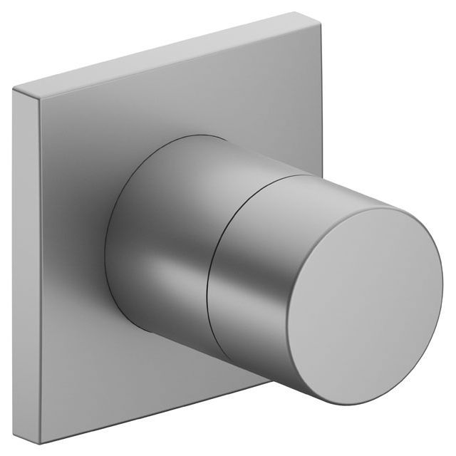 Keuco IXMO 3-Wege Ab- und Umstellventil Pure eckig Aluminium-finish 59549170002